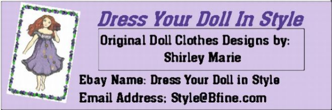 Dress Your Doll in Style