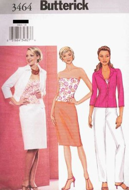 Pattern Butterick Sewing Woman Summer Blouses Top 4 styles Sz 12-16 NEW OOP